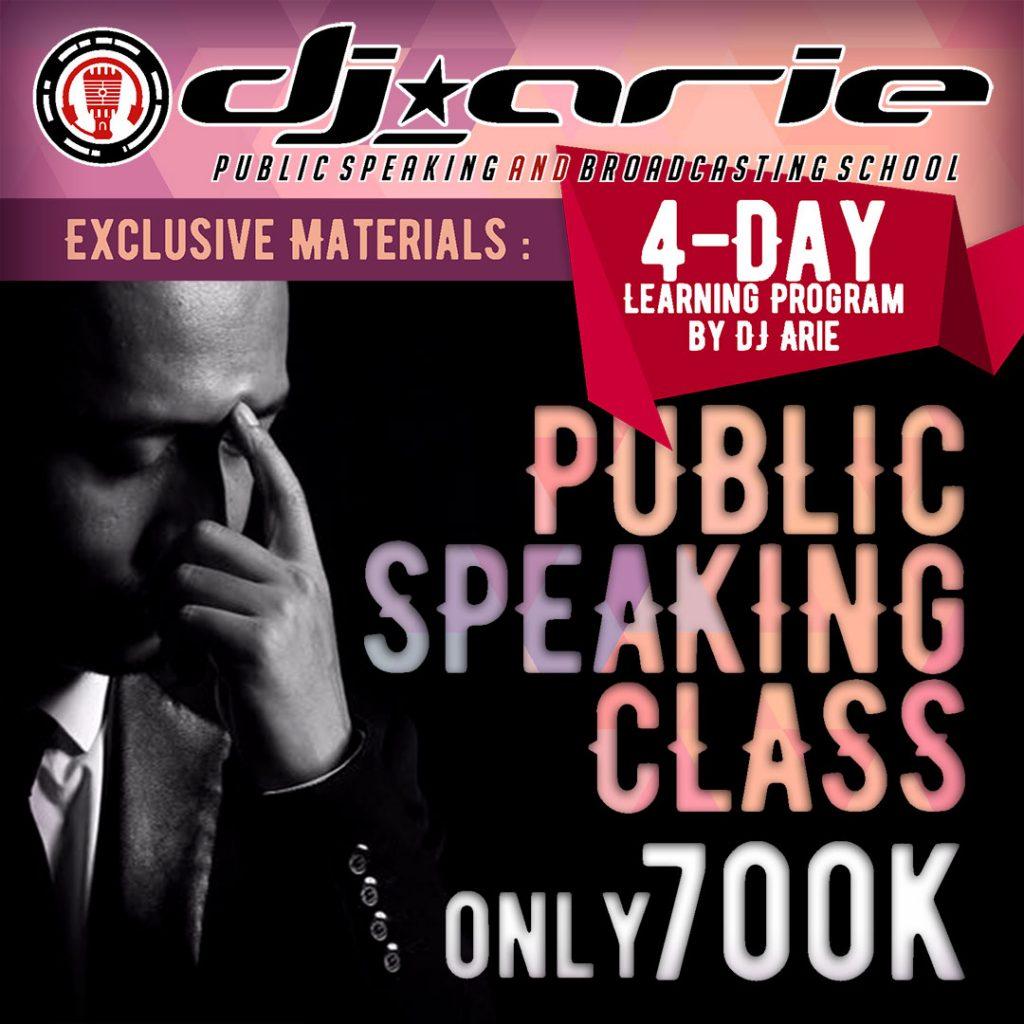 4day Learning Program - Public Speaking Class