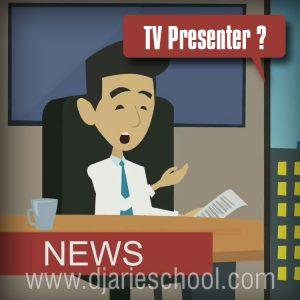 News or TV Presenter